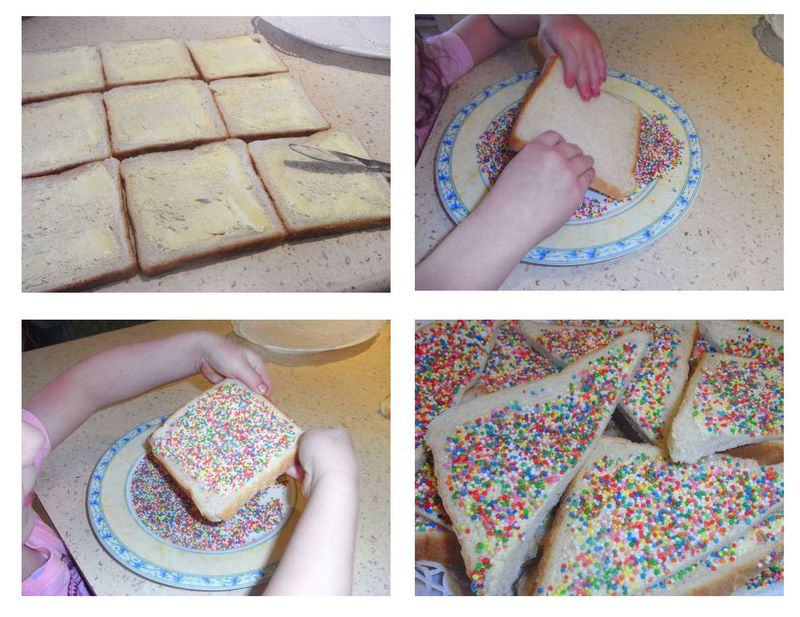 Blog fairy bread